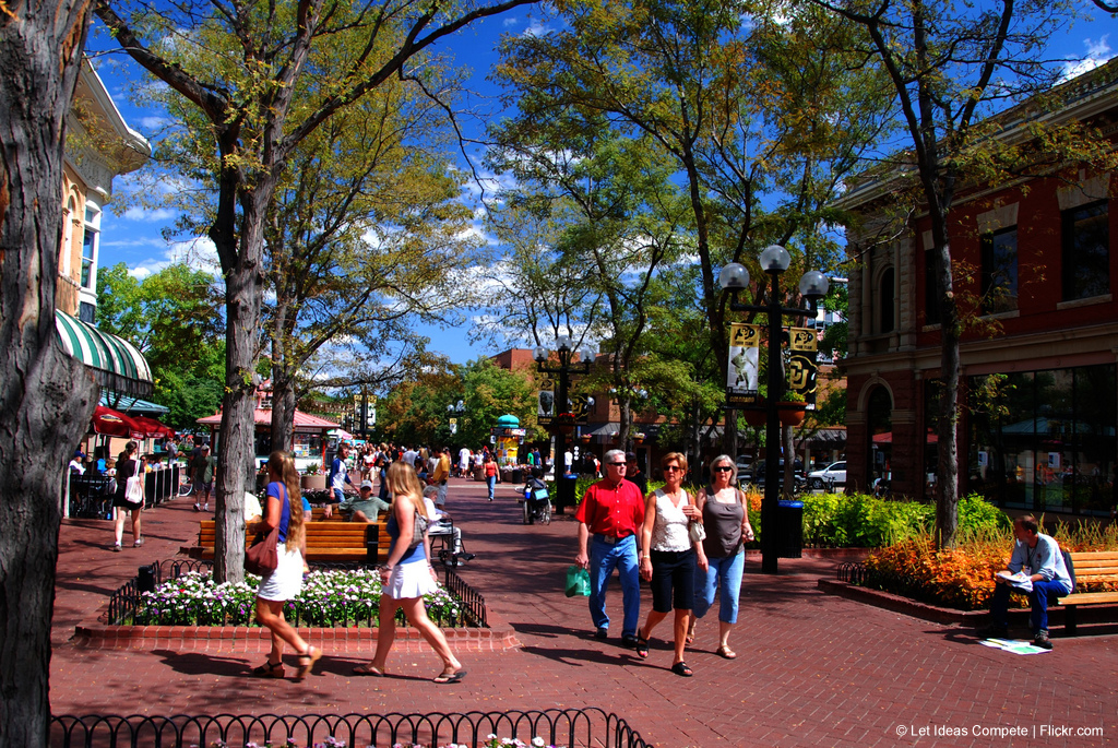 Boulder's Pearl Street Mall
